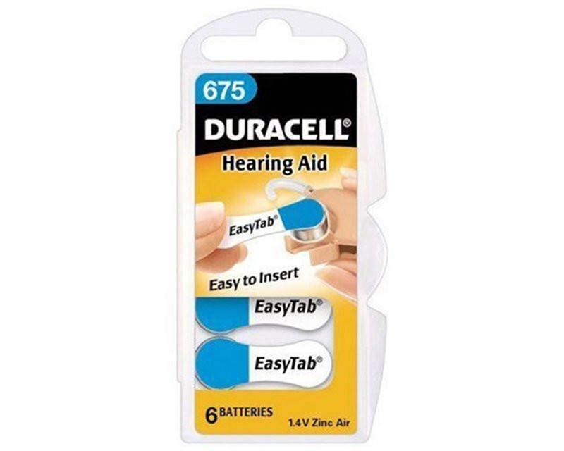 Bateria Duracell DA675...