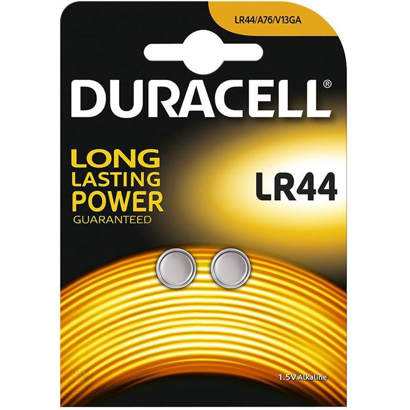 Bateria Duracell LR44/AG13...