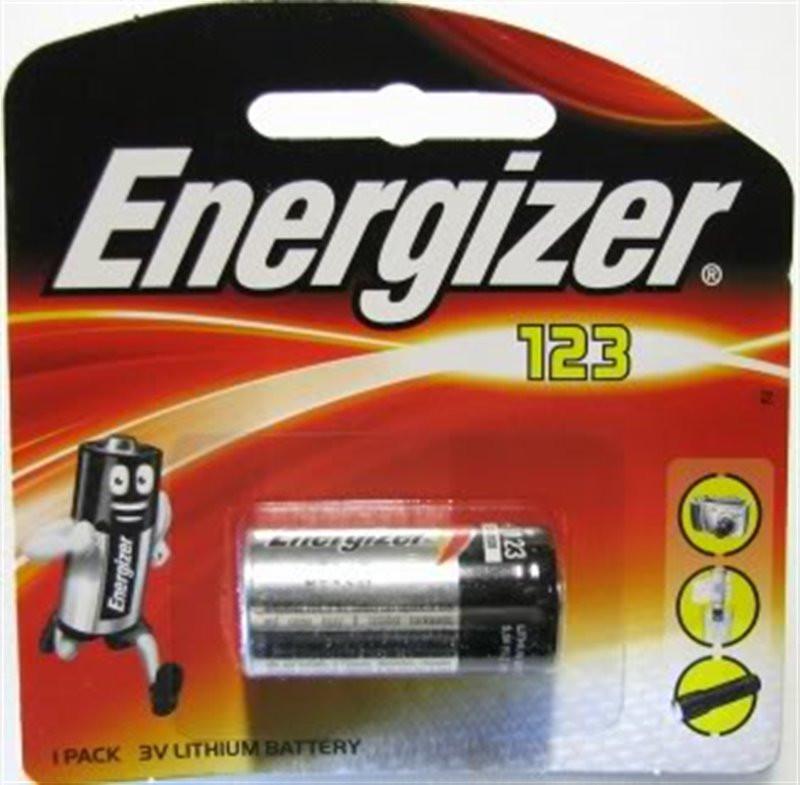 Bateria Energizer 123 /bl....