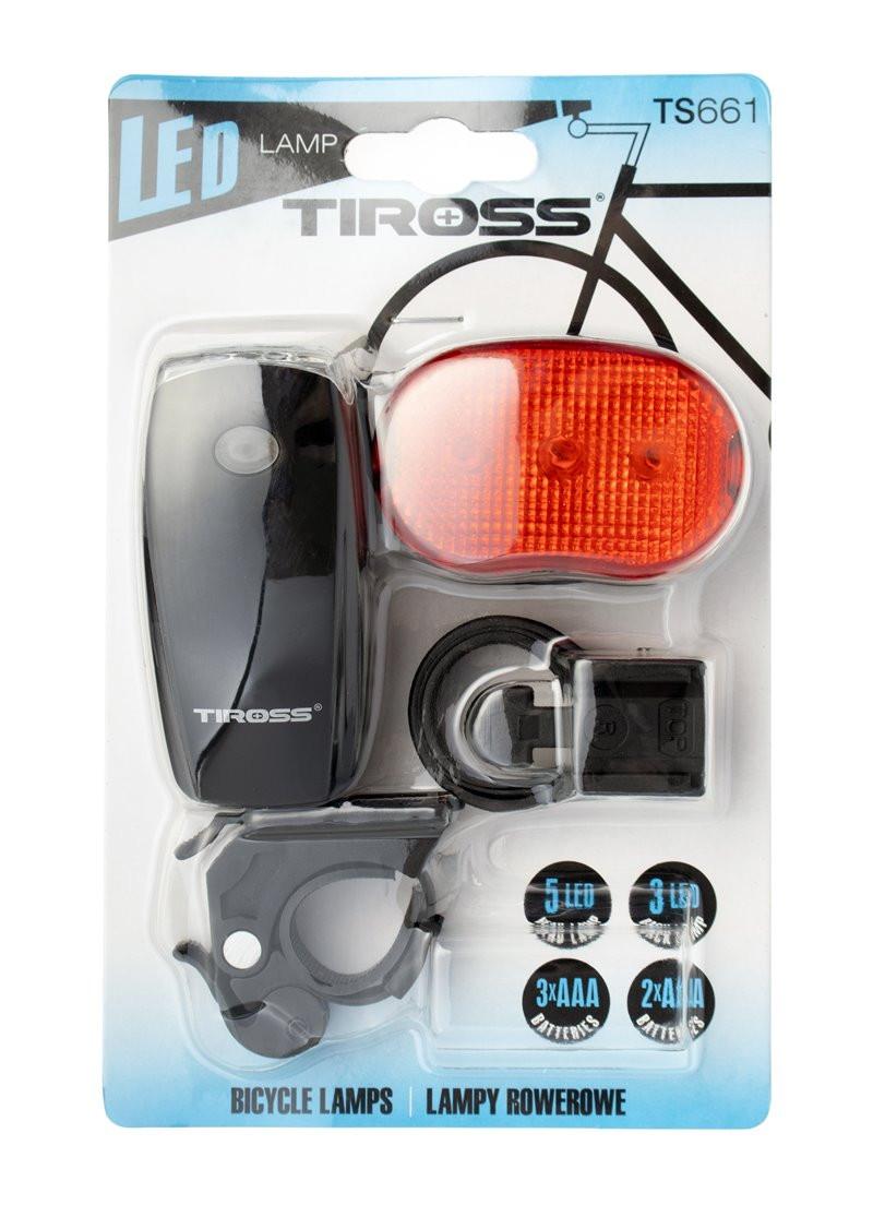 Lampki rowerowe TS-661 Tiross