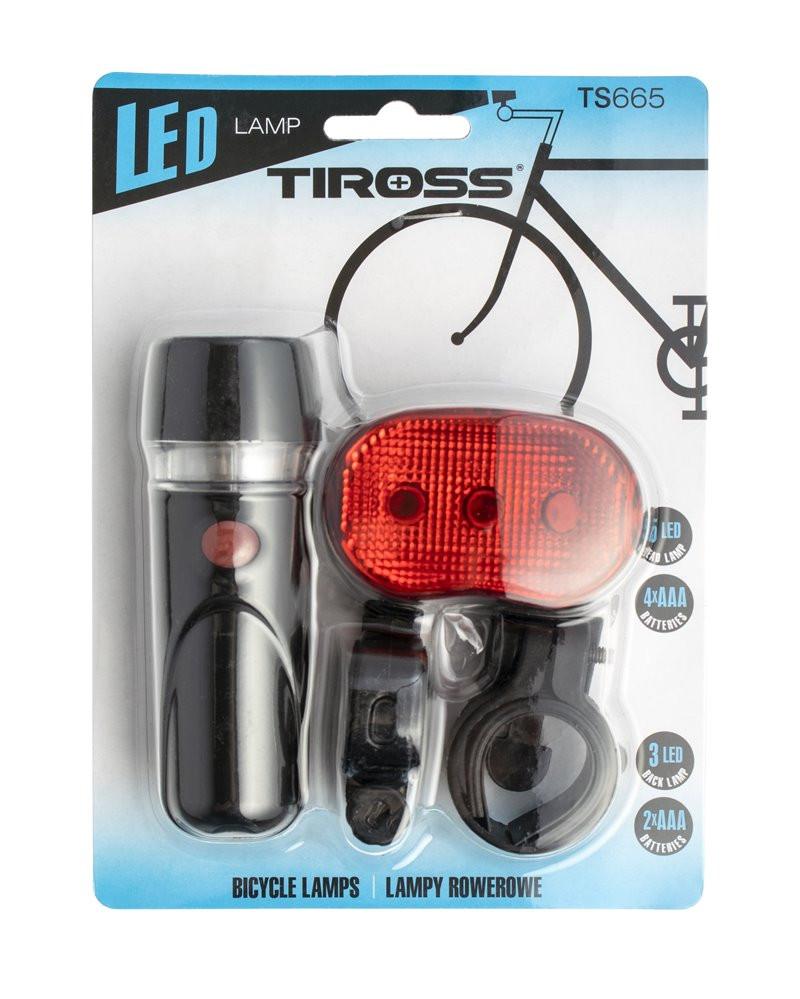 Lampka rowerowa TS-665 Tiross