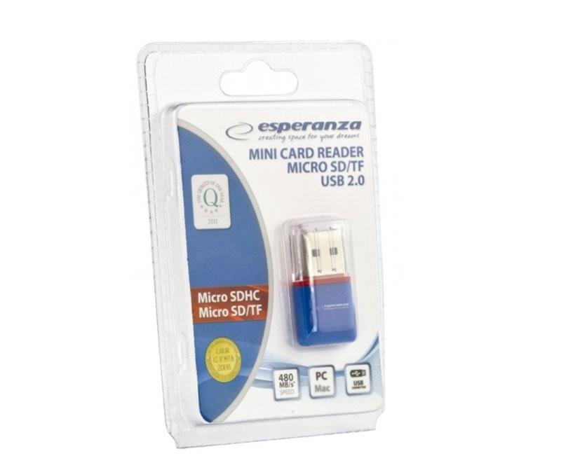 Czytnik kart micro SD USB...