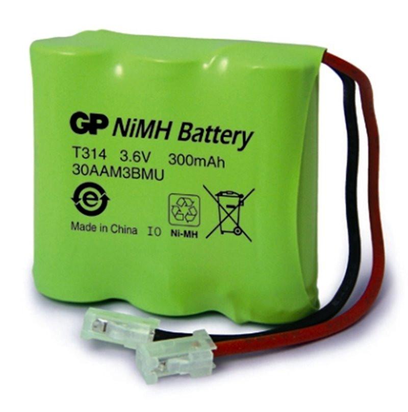 Bateria GP 3,6V/300mAh T157