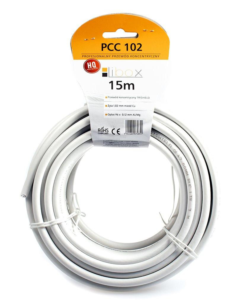 Kabel SAT Trishield HD/15m...