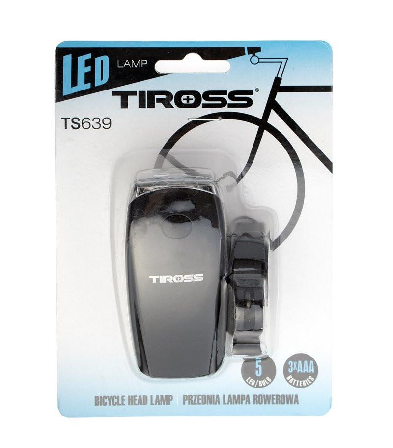 Lampka rowerowa TS-639 Tiross