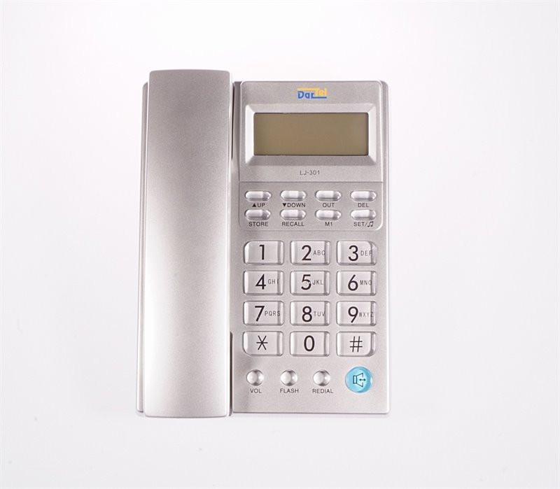 Tel. LJ-301 Dartel srebrny