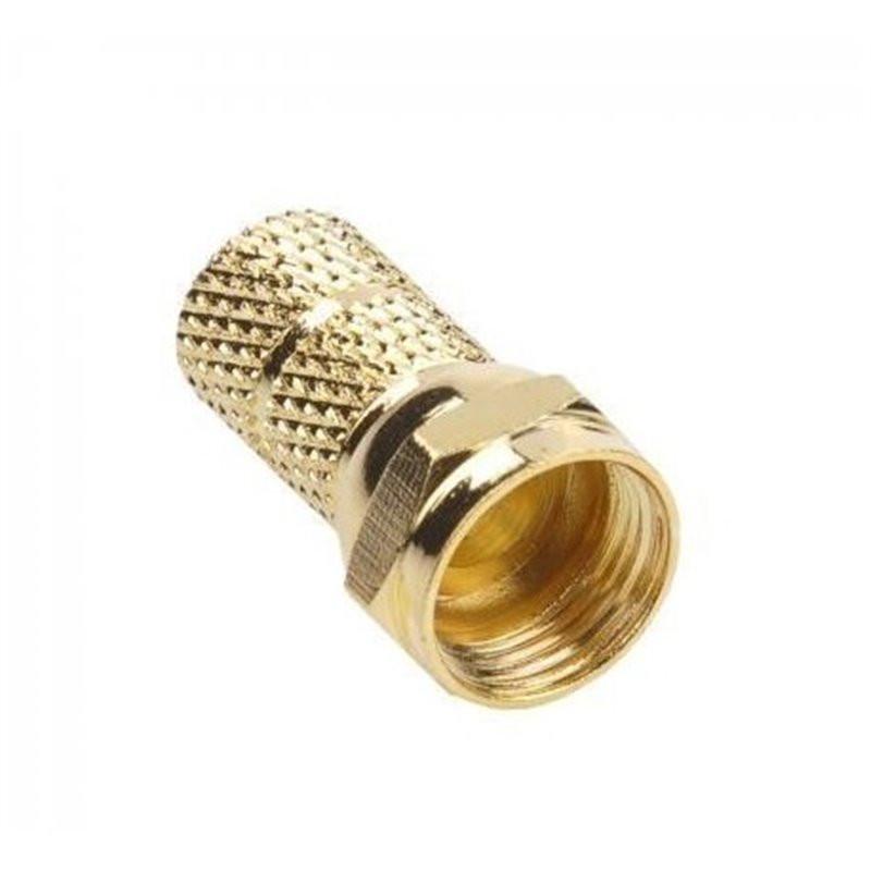 Wtyk F 6,8mm złoty LB0104...
