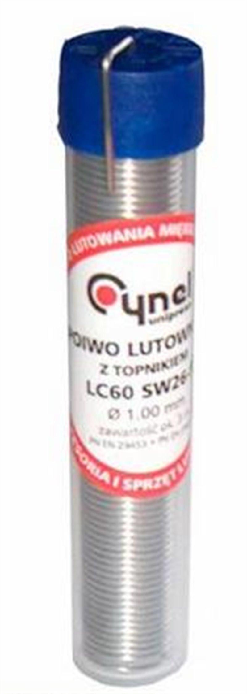 Cyna fiolka 1mm 10g Cynel