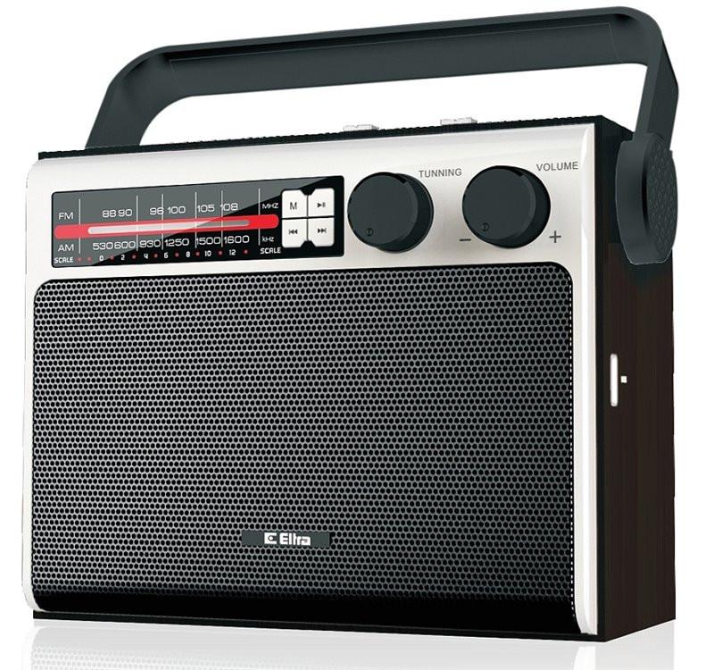 Radio Celina Eltra USB czarna