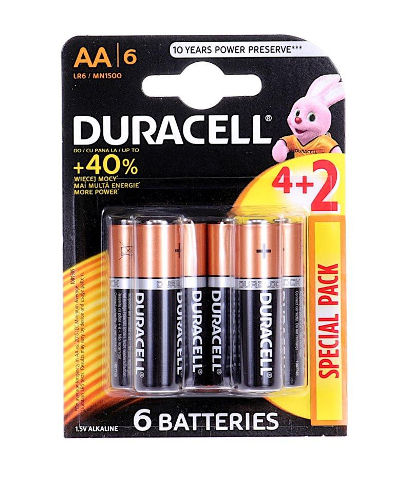 Bateria Duracell Basic K6...