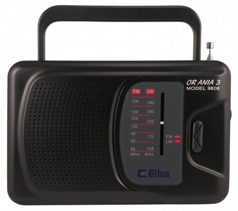 Radio Ania 3 ELTRA czarny
