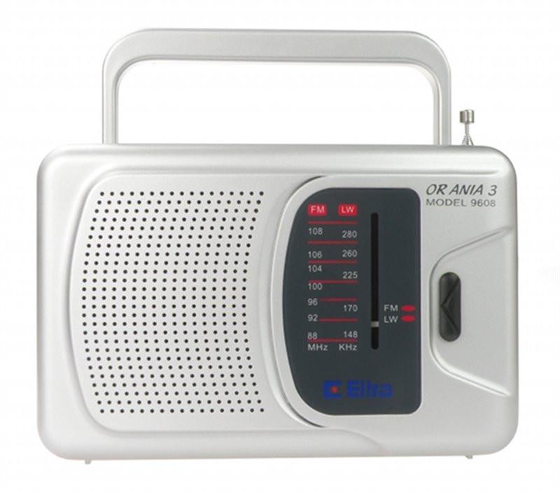 Radio Ania 3 ELTRA srebrny