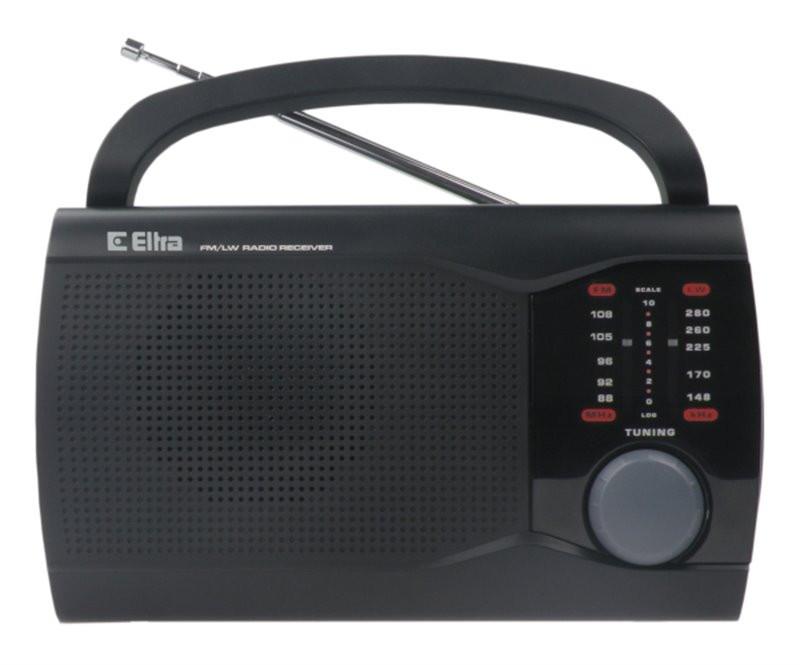 Radio Ewa czarny ELTRA