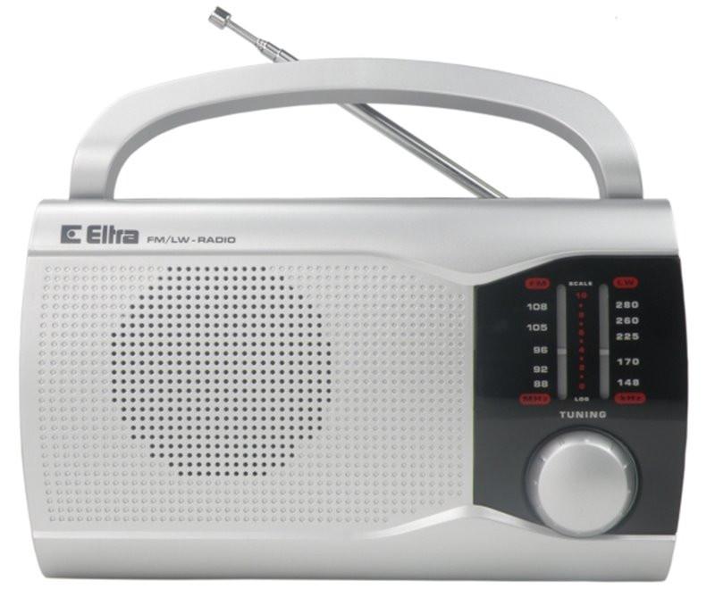 Radio Ewa srebrny ELTRA
