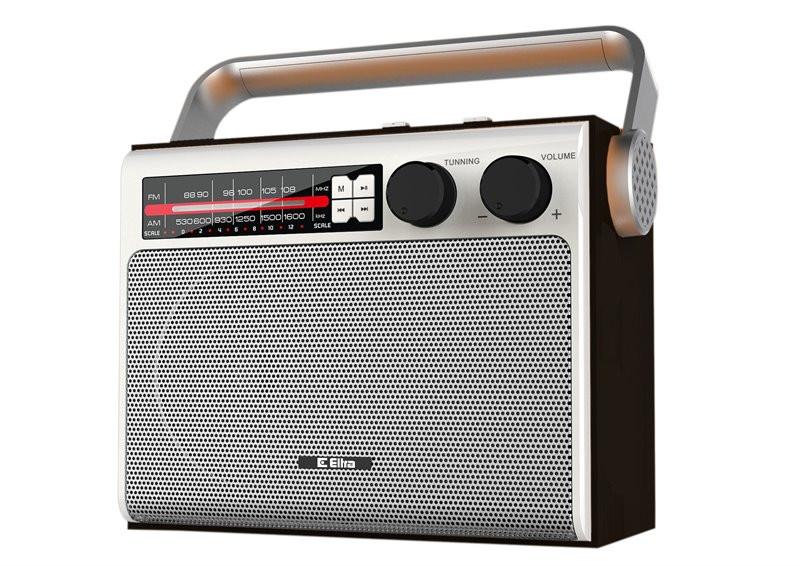 Radio Celina Eltra USB srebrna