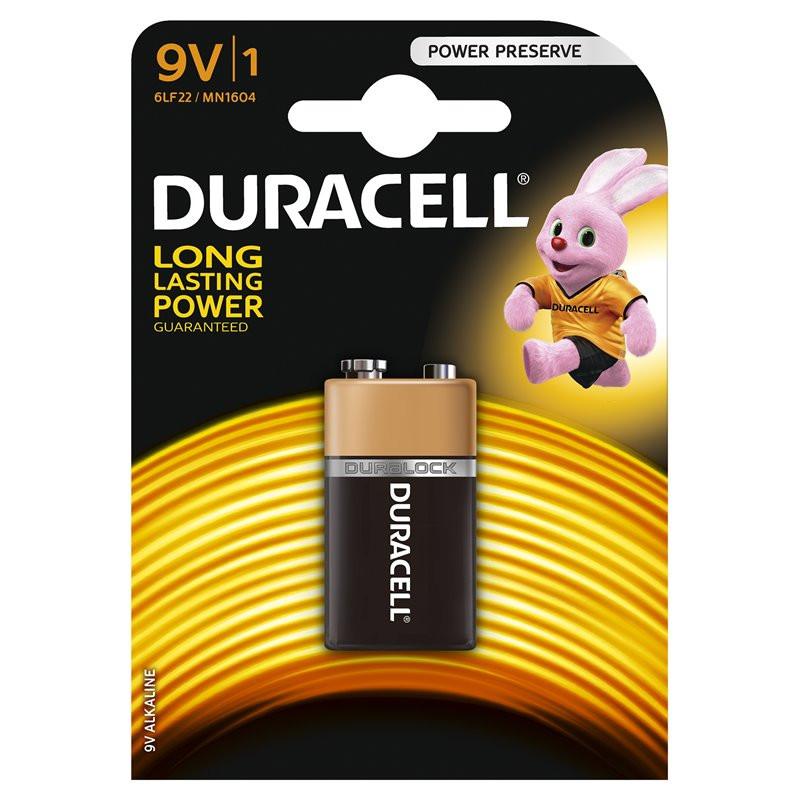 Bateria Duracell 9V LR61...