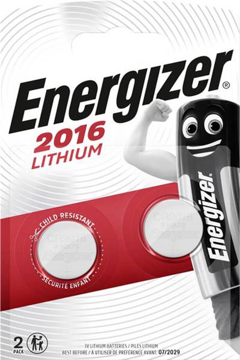 Bateria Energizer CR2016/2