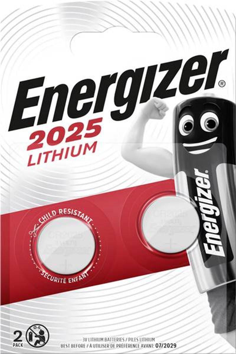 Bateria Energizer CR2025/2