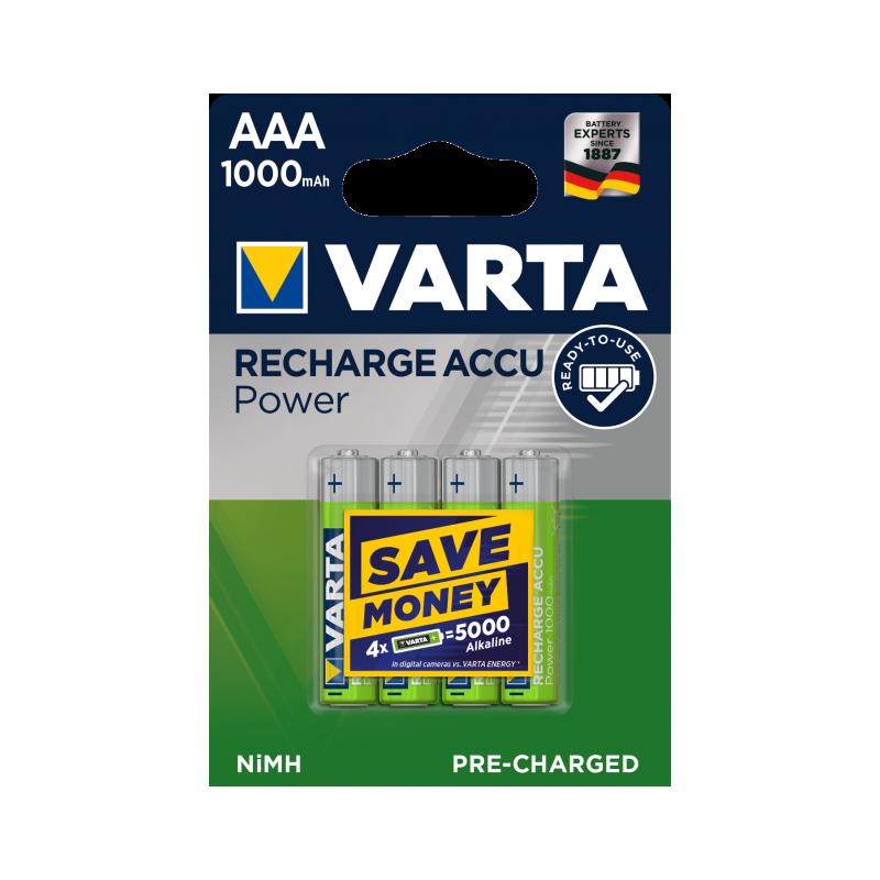 Akumulator VARTA 1000mAh bl./4