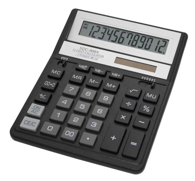 Kalkulator SDC-888XBK Citizen