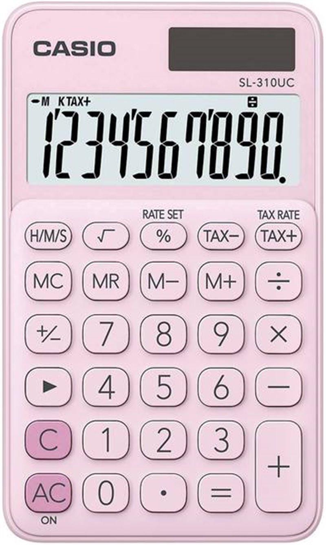 Kalkulator Casio różowy...