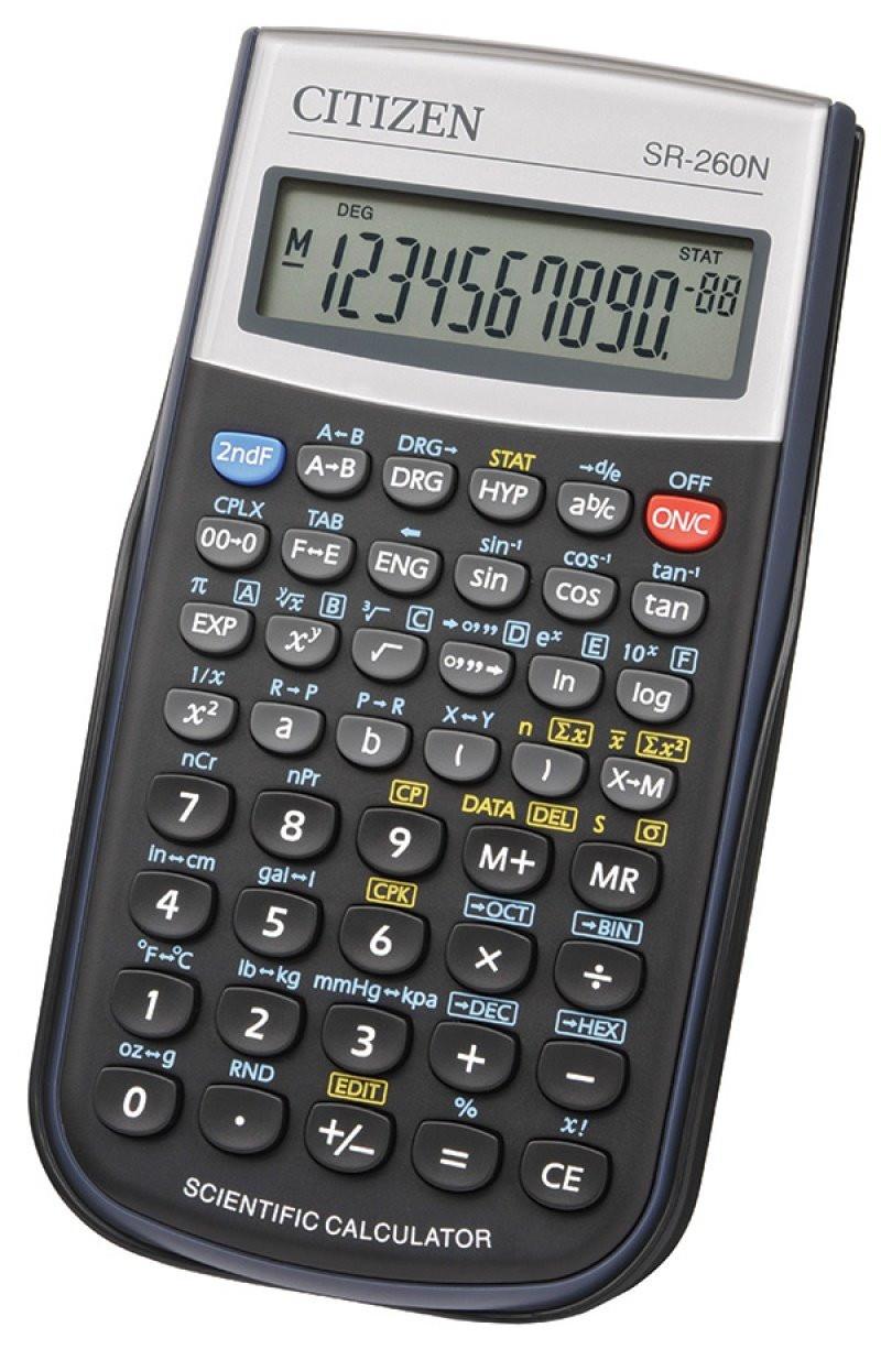 Kalkulator naukowy SR-260N...